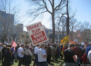 Racist Obama Sign 2