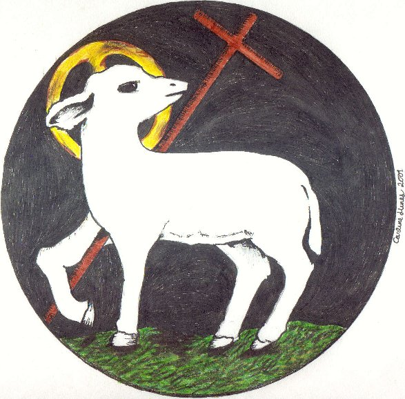 clip art lamb of god